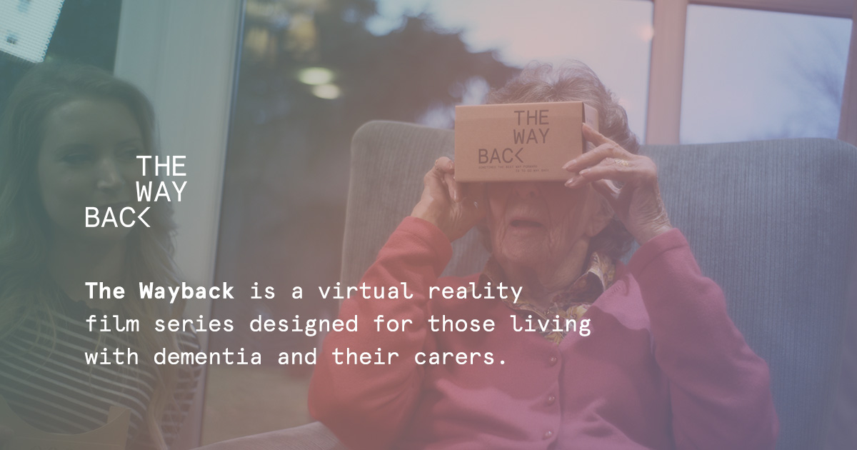The Wayback – A virtual reality film series